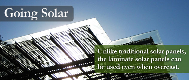 Solar Panels for your Roof