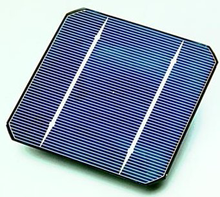 rooftop solar panel cell
