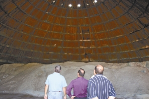 New Roof For Salt Dome In Ohio Roof Rocket