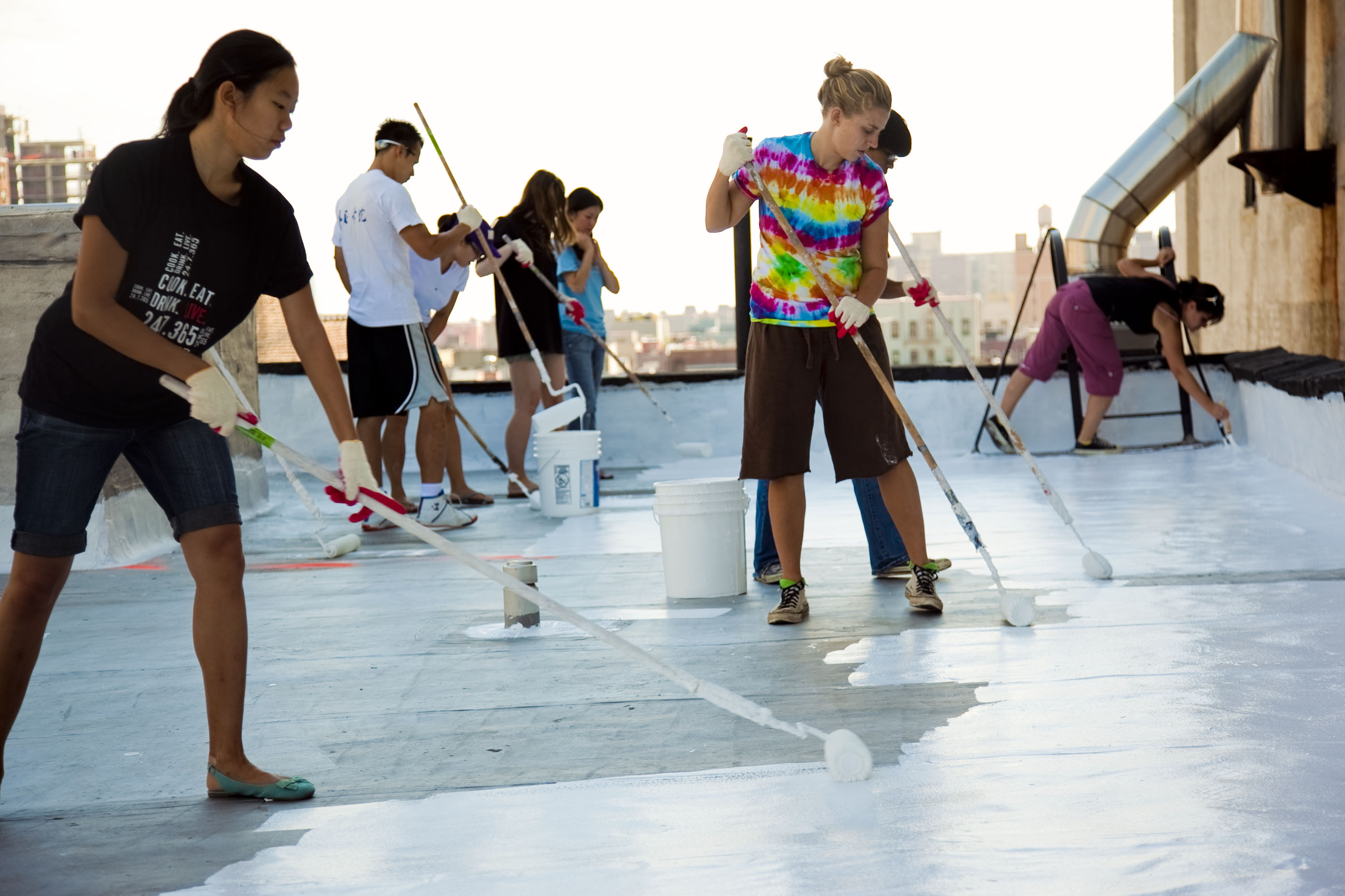 A Relatively New Trend Among Roofing Products Is Roof Paint. Many Roofers  Feel That Painting A Roof Can Produce Many Benefits For Homeowners, ...
