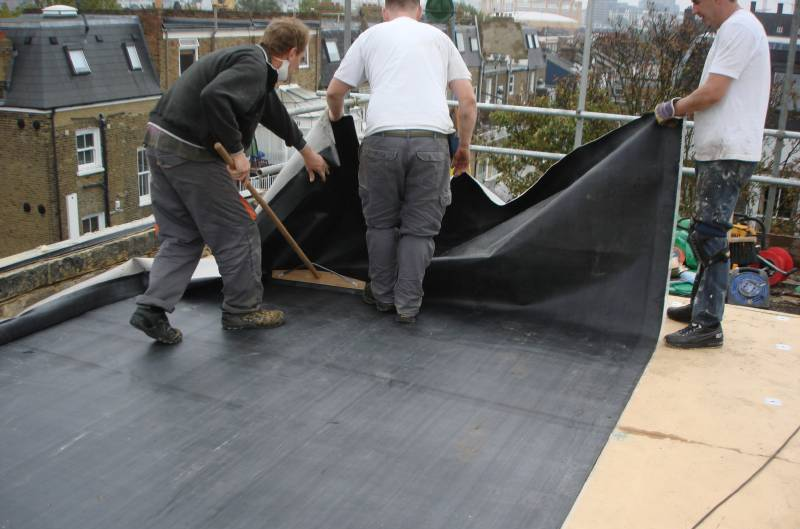 Epdm Rubber Roofing Roof Rocket
