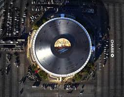 Worlds Largest Vinyl Record on Roof Top
